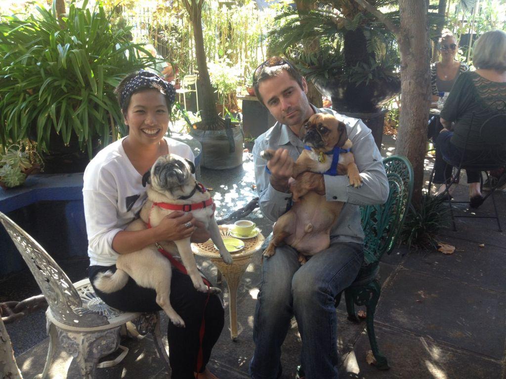 Kate, Winston, Sam and Bruce  @ Cafe Bianca, Mount Hawthorn